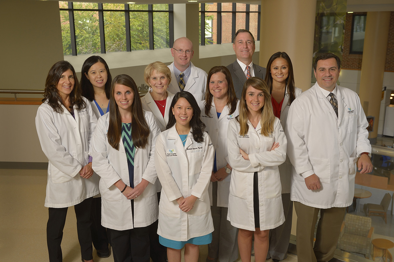 Paoli Hospital Pharmacy Residency group photo