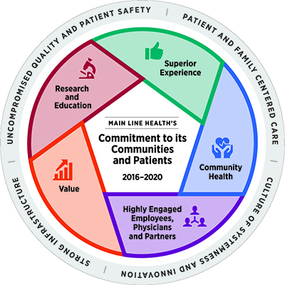 Strategic Plan 2020 wheel | Main Line Health