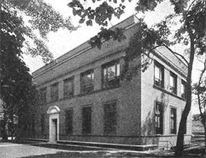 Early LIMR building