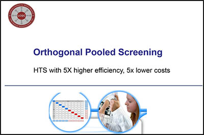 Orthogonal Pooled Screening
