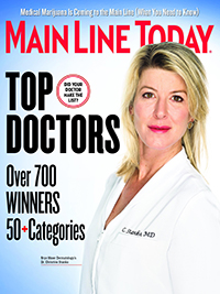 Main Line Today magazine 2017 Top Doctors