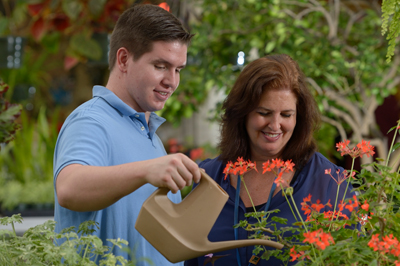 Horticultural therapy at Bryn Mawr Rehab Hospital