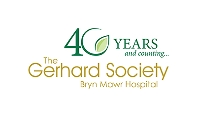 40 years and counting... The Gerhard Society at Bryn Mawr Hospital logo