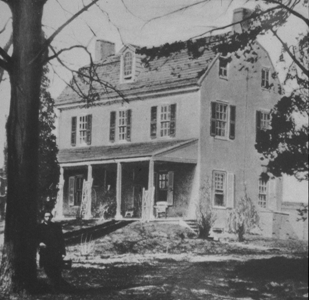 The Norris Homestead circa 1862 – the original location of The German Hospital of Philadelphia