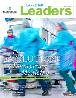 Lankenau Leaders magazine cover winter 2018