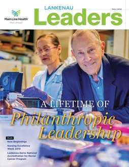 Lankenau Leaders magazine cover fall 2019