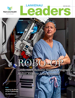 Lankenau Leaders magazine cover winter 2019