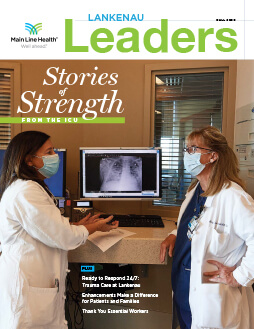 Lankenau Leaders magazine cover fall 2020