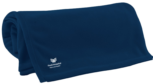 Paoli Hospital Fleece Blanket
