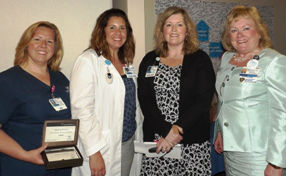 (From left to right) Melissa Winters, Rachael Suplee, Bridget Purcell and Jan Nash