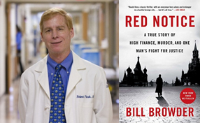 Dr. Robert Pinsk and Red Notice book cover