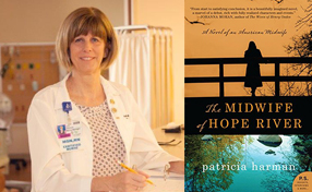 Tina Saurman and The Midwife of Hope River book cover