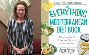 Mary Ann Martin and The Everything Mediterranean Diet book cover
