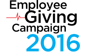 Employee Giving Campaign 2016 logo