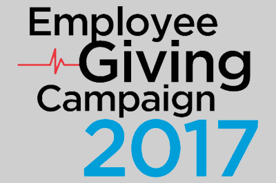 Employee Giving Campaign 2017 logo