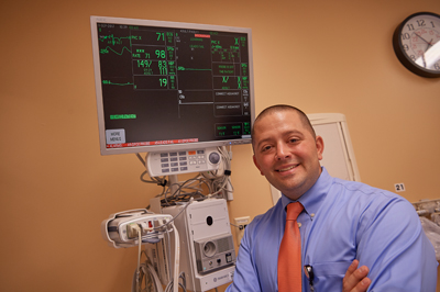 A new cardiac monitor at Paoli Hospital