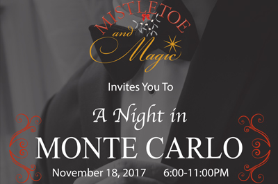 Mistletoe and Magic invites you to A night in Monte Carlo