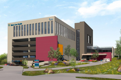 Artist rendering of health center in King of Prussia