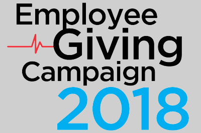 Employee giving campaign 2018 logo