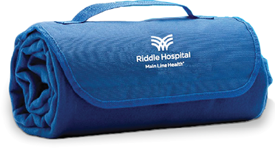 Riddle Hospital Fleece Blanket