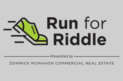 Run for Riddle presented by Zommick McMahon Commercial Real Estate logo