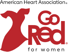 American Heart Association Go Red for Women logo