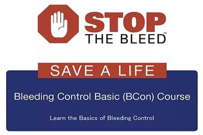 Stop the bleed, save a live - Bleeding control basic (BCon) course