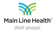 Main Line Health – Well ahead
