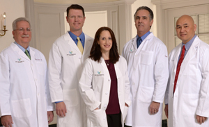 """Drs. Rose, Pearson, Denne, Myrick and Ing"""