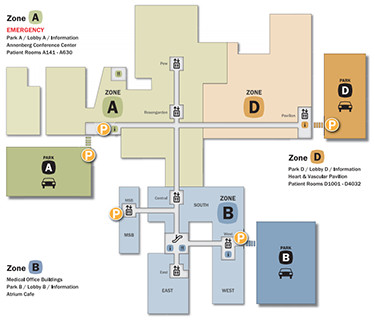 Lankenau Medical Center Parking Locations