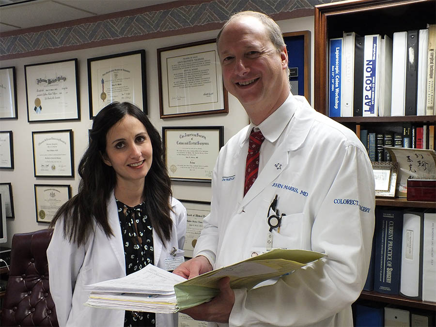 Mexico City Surgical Oncologist Shadows Lankenau Medical Center's Dr. John Marks