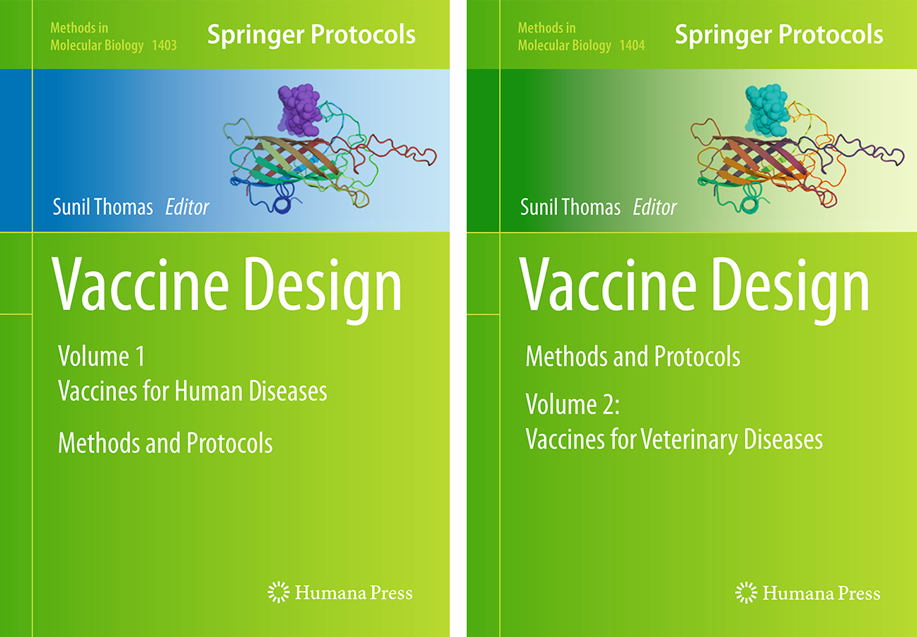 Vaccine Design Volume 1 and 2 book covers