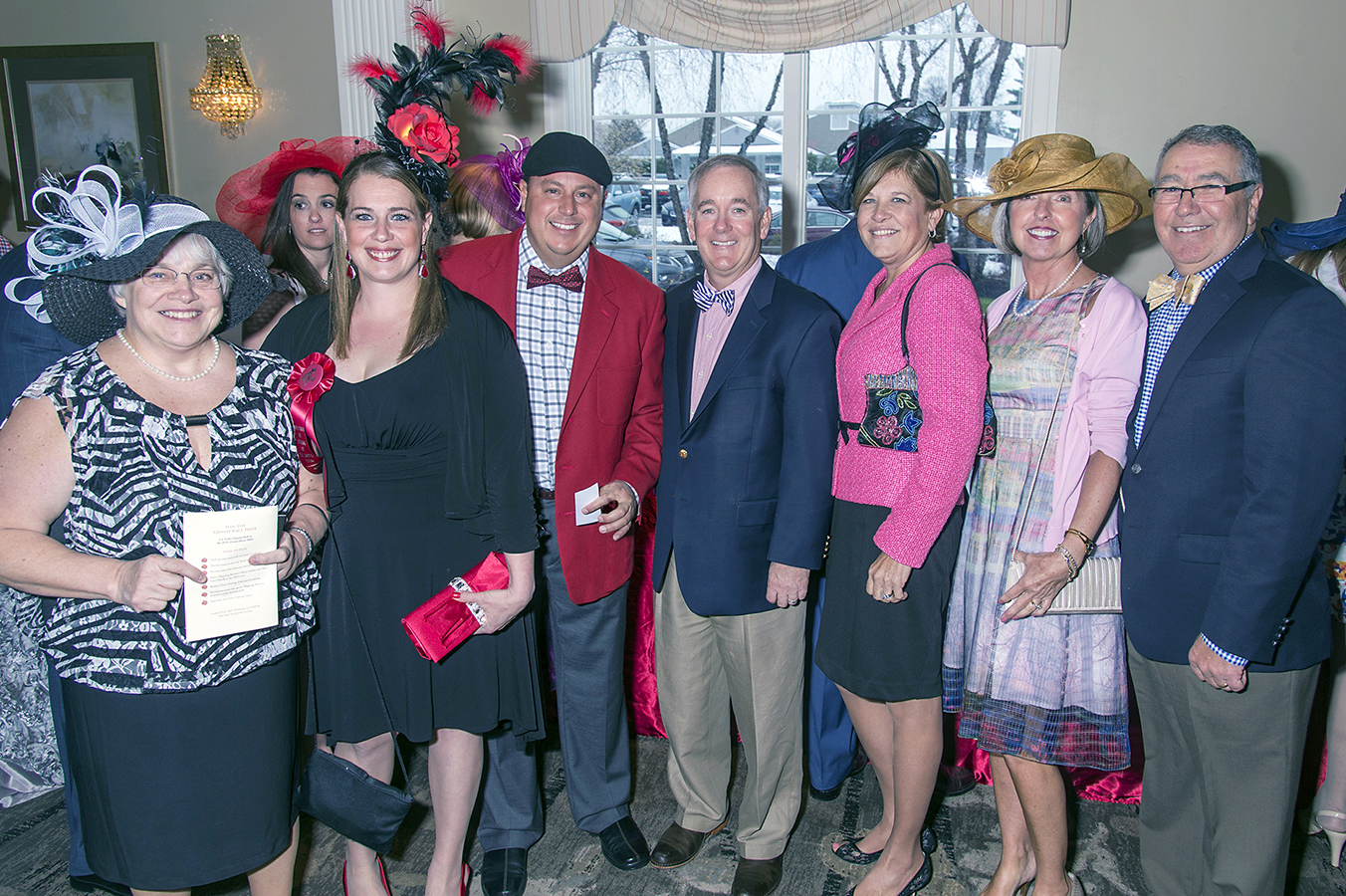 (From left) Donna Meehan, Clinical Nurse Educator, Riddle Hospital; Chrissy Myers, Nurse Manager, Riddle Hospital; Sean Joyce, guest; Jack Lynch, President and CEO, Main Line Health and wife Deb Lynch; Cindy Perecko and husband Gary Perecko, President, Riddle Hospital