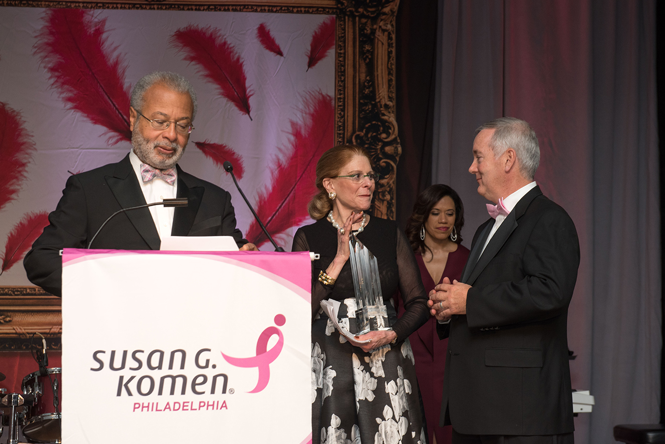 Susan G. Komen awards presentation