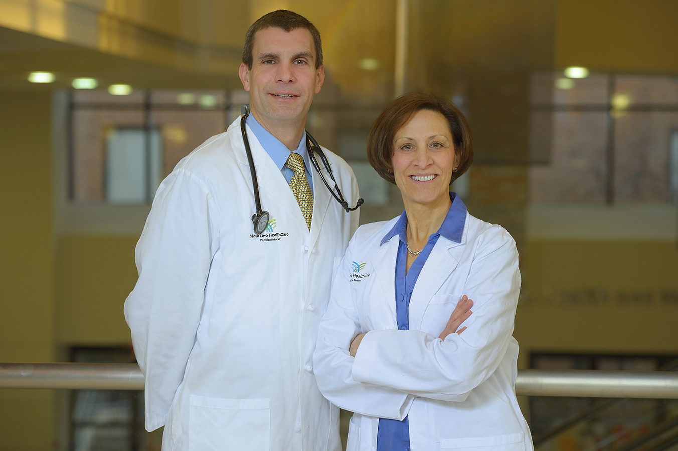 Andrew B. Ulichney, MD and Frances Pluchino, CRNP