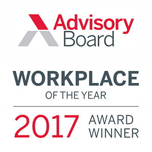 Advisory Board Workplace of the Year Award