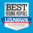 U.S. News & World Report Best Regional Hospitals Silver Ranking