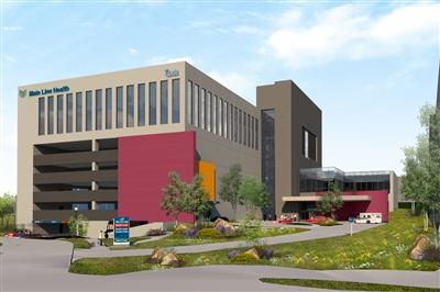 Artist rendering of Main Line Health Center in King of Prussia building