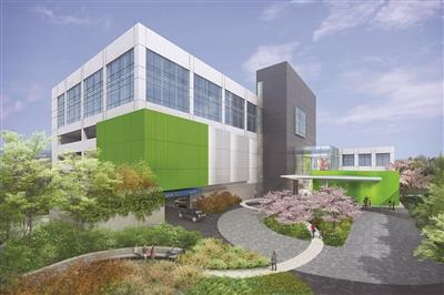 Artist rendering of Main Line Health Center King of Prussia, exterior