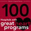 Becker's Hospital Review 100 hospitals with great heart programs logo