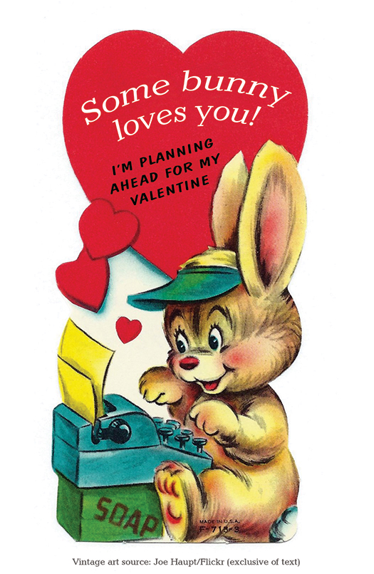 Some bunny loves you ACP Valentine image