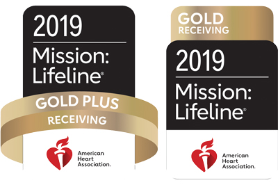 2019 Mission: Lifeline gold and gold plus receiving logos