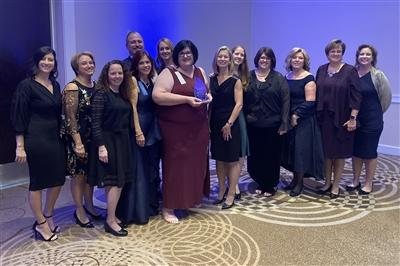 The Main Line Health team celebrates together at the 30th Annual Nightingale Awards Gala earlier this month in Harrisburg, Pennsylvania