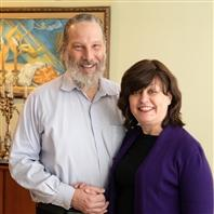 Yana Weiser-Shenkman with husband