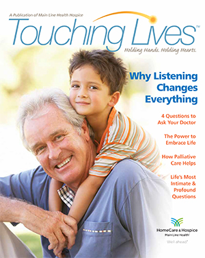 Touching Lives magazine cover