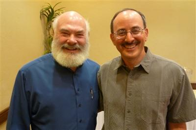 Dr. Andrew Weil (left) and Dr. Denitzio