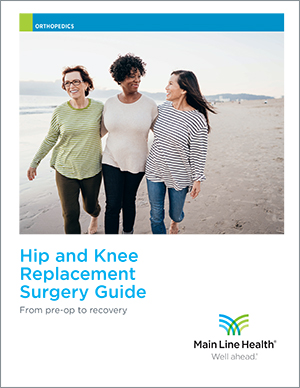 Hip and Knee Replacement Surgery Guide cover