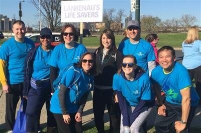 Lankenau Life Savers Donor Dash team 2016