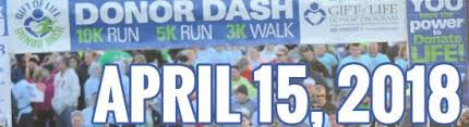 Donor Dash April 15, 2018