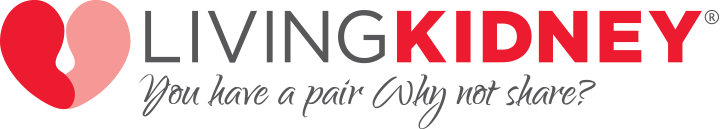 Logo: Living Kidney | You have a pair, why not share?